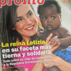 Coleccionismo de Revista Pronto: PRONTO -2-6-2018 Nº 2404 . Lote 142613006