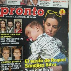 Coleccionismo de Revista Pronto: PRONTO Nº 2371 14-10-2017. Lote 142613094