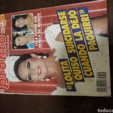 Coleccionismo de Revista Pronto: REVISTA PRONTO LOLITA FLORES. Lote 142800354
