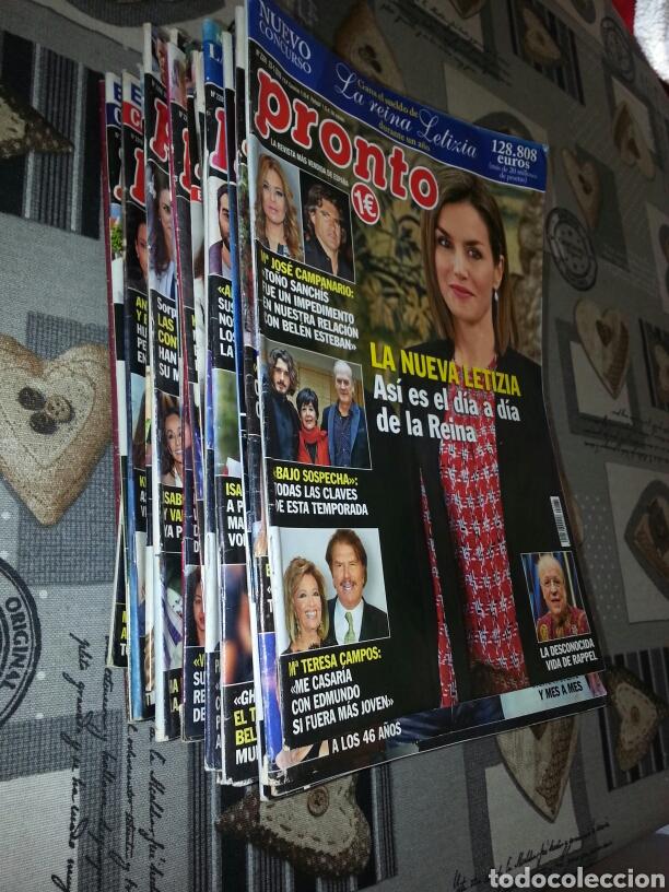 Coleccionismo de Revista Pronto: Revistas Pronto - Foto 2 - 143869466