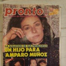 Coleccionismo de Revista Pronto: REVISTA PRONTO Nº 928. 17/2/1990. Lote 147530502