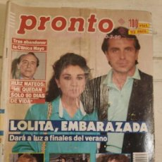 Coleccionismo de Revista Pronto: REVISTA PRONTO Nº 931. 10/03/1990. Lote 147530786
