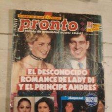 Coleccionismo de Revista Pronto: REVISTA PRONTO Nº 1041. 18/4/1992. Lote 147531534