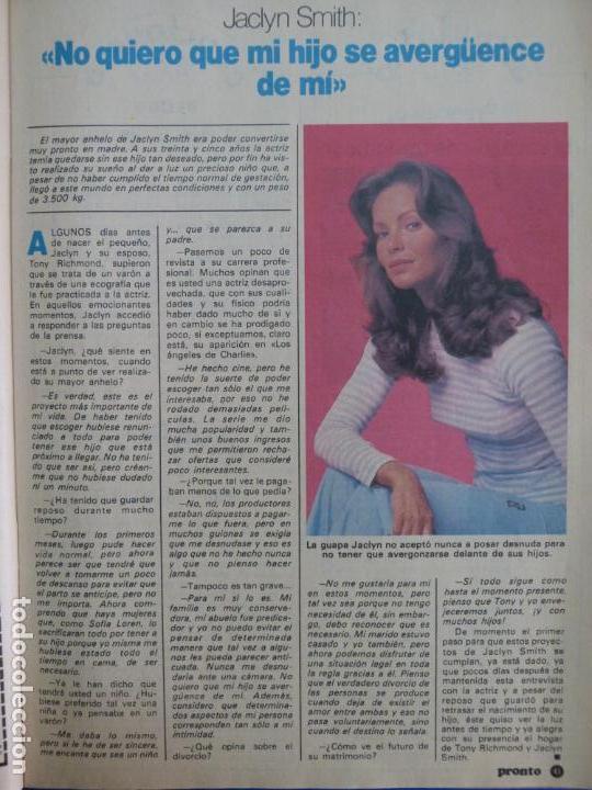 Recorte Reportaje Clipping De Jaclyn Smith Revista Pronto Nº 519 Pág 43