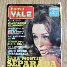Coleccionismo de Revista Pronto: NUEVO VALE Nº 5 SEPTIEMBRE 79 1979 SARA MONTIEL SEPARADA PEPE FORMATO PEQUEÑO. Lote 149799302
