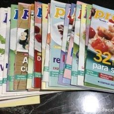 Coleccionismo de Revista Pronto: REVIST FASCÍCULOS COCINA PRONTO 1977. Lote 149894142