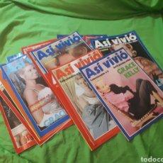 Coleccionismo de Revista Pronto: ASI VIVIÓ GRACE KELLY PRONTO. Lote 150577454