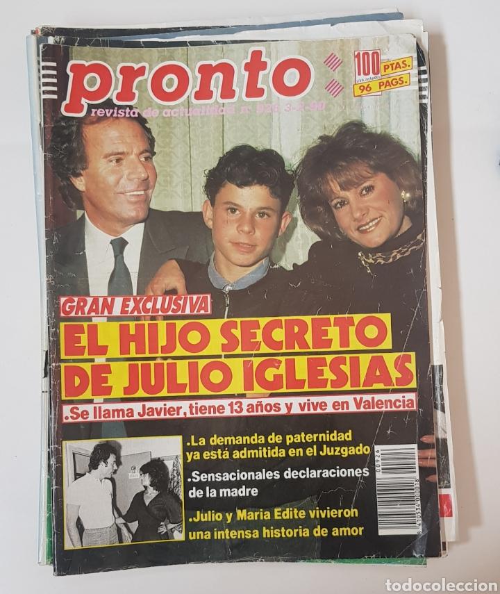 REVISTA PRONTO Nº 926.3/2/1990. HIJO SECRETO DE JULIO IGLESIAS - TDKR62 (Papel - Revistas y Periódicos Modernos (a partir de 1.940) - Revista Pronto)