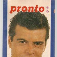 Coleccionismo de Revista Pronto: PRONTO PROGRAMACION TV. DEL 28 ABRIL AL 4 MAYO ¿AÑO?. (Z/C7). Lote 155896054