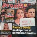 Coleccionismo de Revista Pronto: REVISTA PRONTO 2367 * PAULA Y DAVISD BUSTAMANTE + BARDEM Y PENELOPE + ISABEL PANTOJA + LEONOR * 61. Lote 160584446