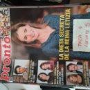 Coleccionismo de Revista Pronto: REVISTA PRONTO 2218 * LETIZIA + PEQUEÑO NICOLAS + MARIA TERESA CAMPOS + ISABEL PANTOJA * 61. Lote 160584890