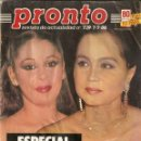 Coleccionismo de Revista Pronto: PRONTO Nº 739 ISABEL PANTOJA CHARLES MANSON SHARON TATE ROCIO JURADO BUTRAGUEÑO MARLENE DIETRICH. Lote 160622110
