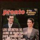 Coleccionismo de Revista Pronto: MECANO-TOM HANKS-CAROLINA DE MONACO-KEVIN COSTNER-SHANNEN DOHERTY-PETER SELLERS-PAMELA ANDERSON. Lote 160630334