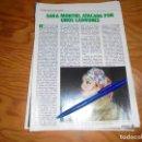Coleccionismo de Revista Pronto: RECORTE : SARA MONTIEL ATACADA CUANDO SALIA DEL TEATRO. PRONTO, DCBRE 1982 (). Lote 161346070