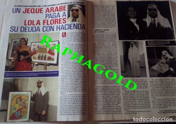Coleccionismo de Revista Pronto: Revista Pronto nº 817 Lola Flores Ana Belen Marlon Brando El Lute Melodie Nakachian Kimera - Foto 2 - 161897570