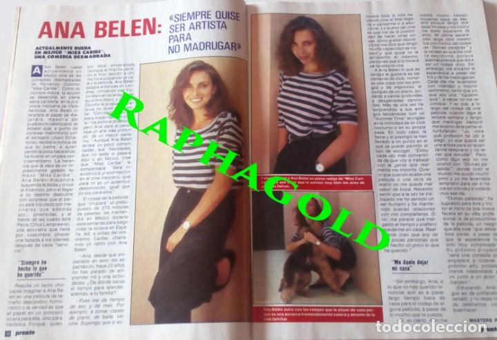 Coleccionismo de Revista Pronto: Revista Pronto nº 817 Lola Flores Ana Belen Marlon Brando El Lute Melodie Nakachian Kimera - Foto 4 - 161897570