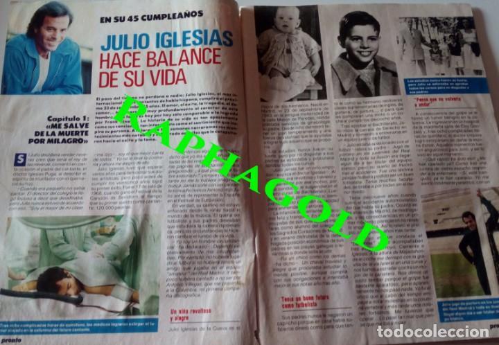 Coleccionismo de Revista Pronto: PRONTO nº 855 Julio Iglesias Paloma Hurtado Antonio Gades El Cordobés La Toya Jackson Concha Piquer - Foto 2 - 161899326