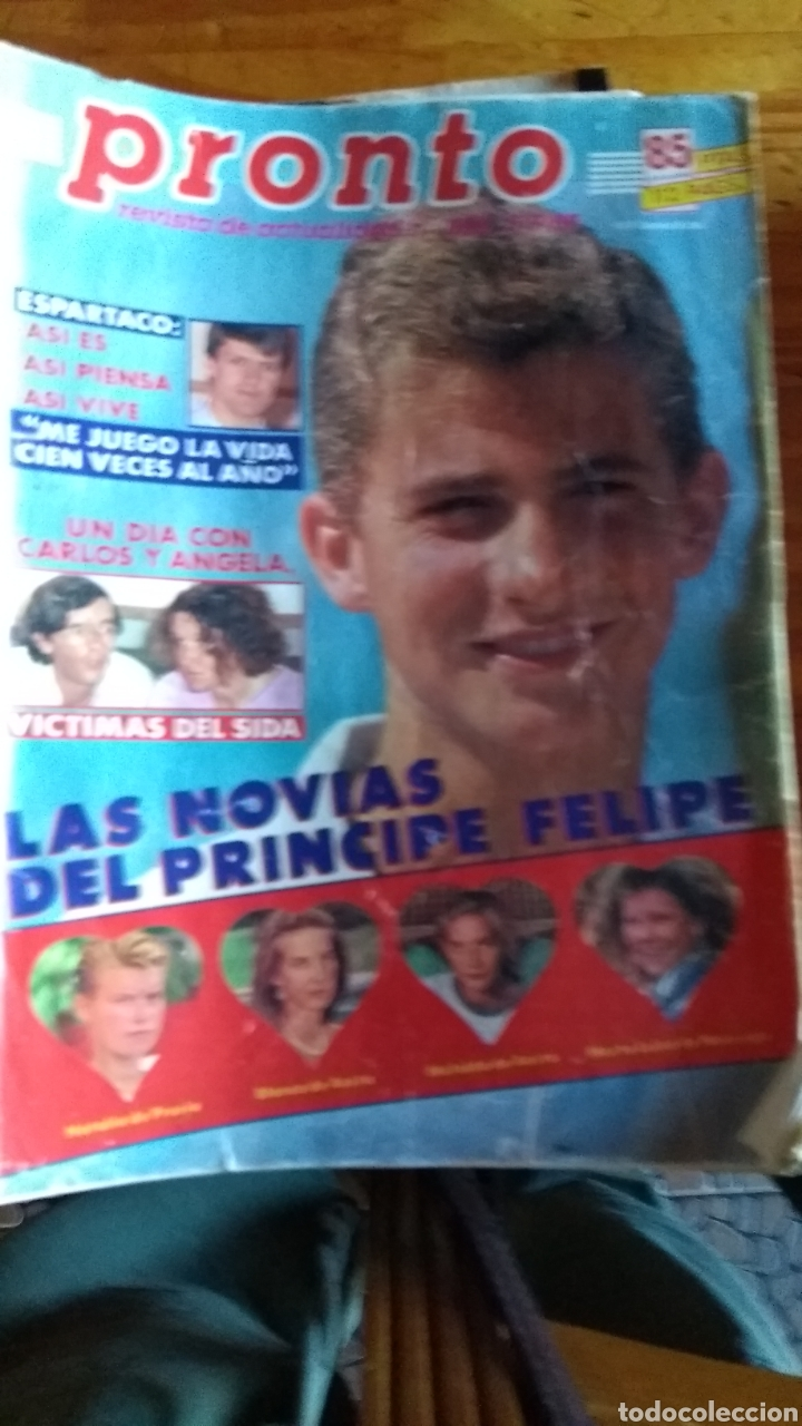 Coleccionismo de Revista Pronto: 23 revistas pronto año 1987 leer antes de comprar - Foto 5 - 165754348