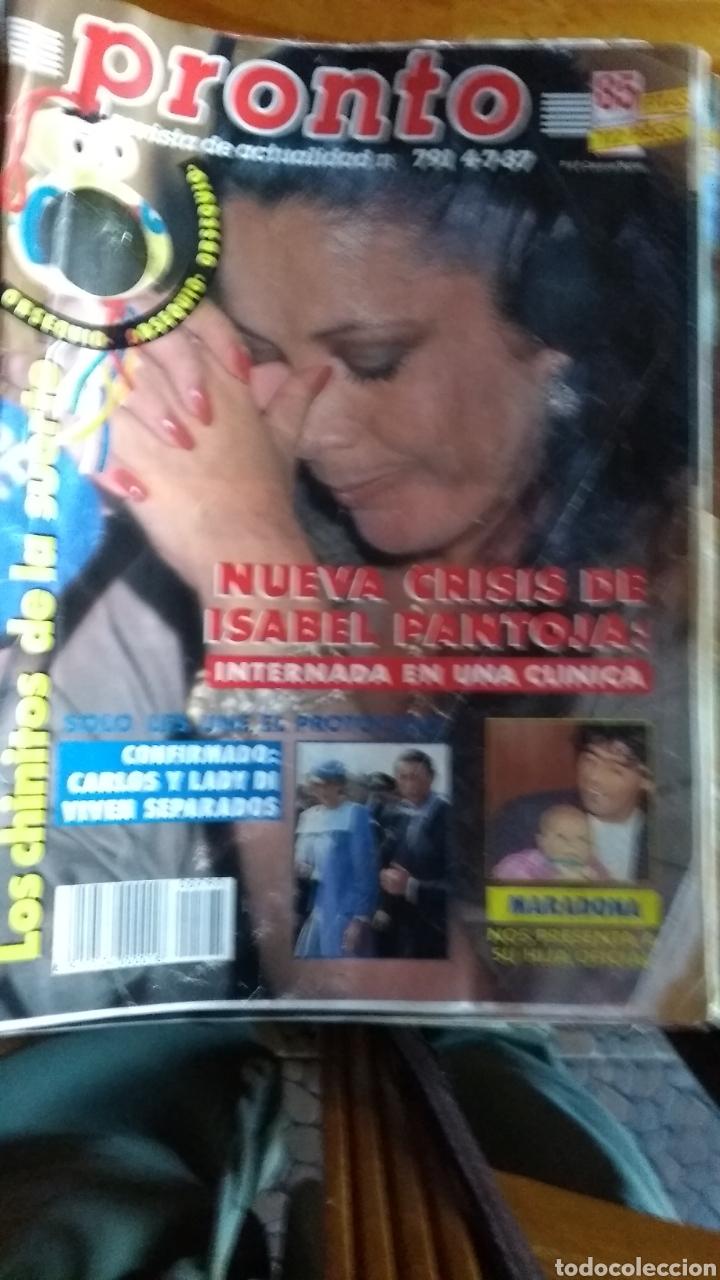Coleccionismo de Revista Pronto: 23 revistas pronto año 1987 leer antes de comprar - Foto 7 - 165754348