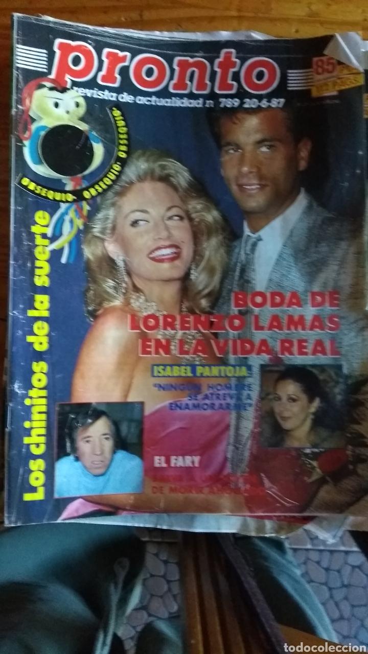 Coleccionismo de Revista Pronto: 23 revistas pronto año 1987 leer antes de comprar - Foto 14 - 165754348