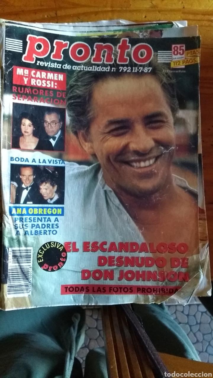 Coleccionismo de Revista Pronto: 23 revistas pronto año 1987 leer antes de comprar - Foto 15 - 165754348