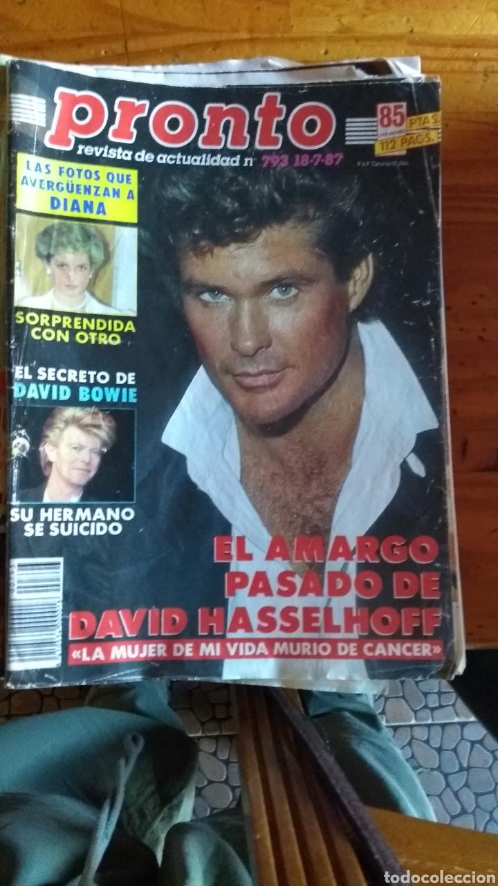 Coleccionismo de Revista Pronto: 23 revistas pronto año 1987 leer antes de comprar - Foto 16 - 165754348