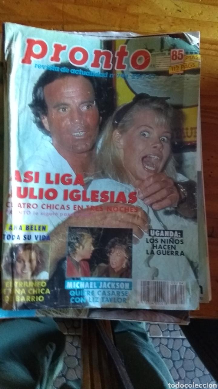 Coleccionismo de Revista Pronto: 23 revistas pronto año 1987 leer antes de comprar - Foto 17 - 165754348