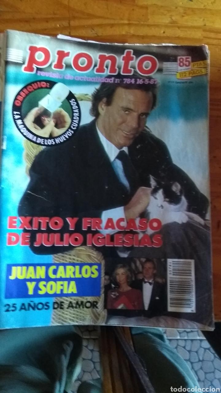 Coleccionismo de Revista Pronto: 23 revistas pronto año 1987 leer antes de comprar - Foto 18 - 165754348