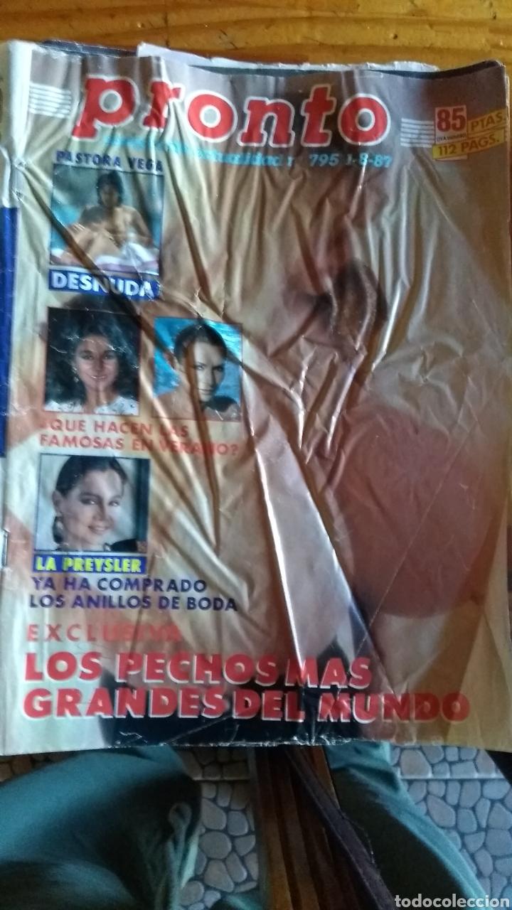 Coleccionismo de Revista Pronto: 23 revistas pronto año 1987 leer antes de comprar - Foto 19 - 165754348