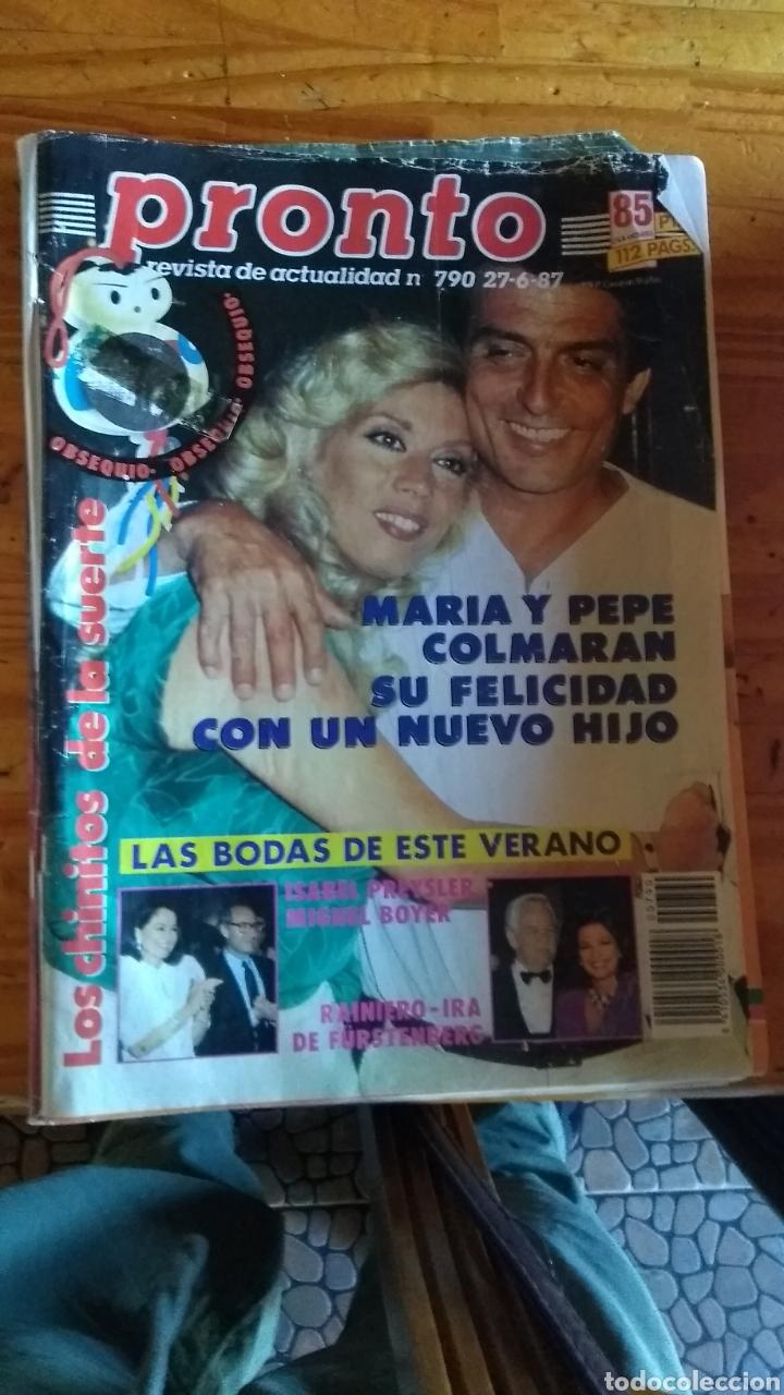 Coleccionismo de Revista Pronto: 23 revistas pronto año 1987 leer antes de comprar - Foto 22 - 165754348