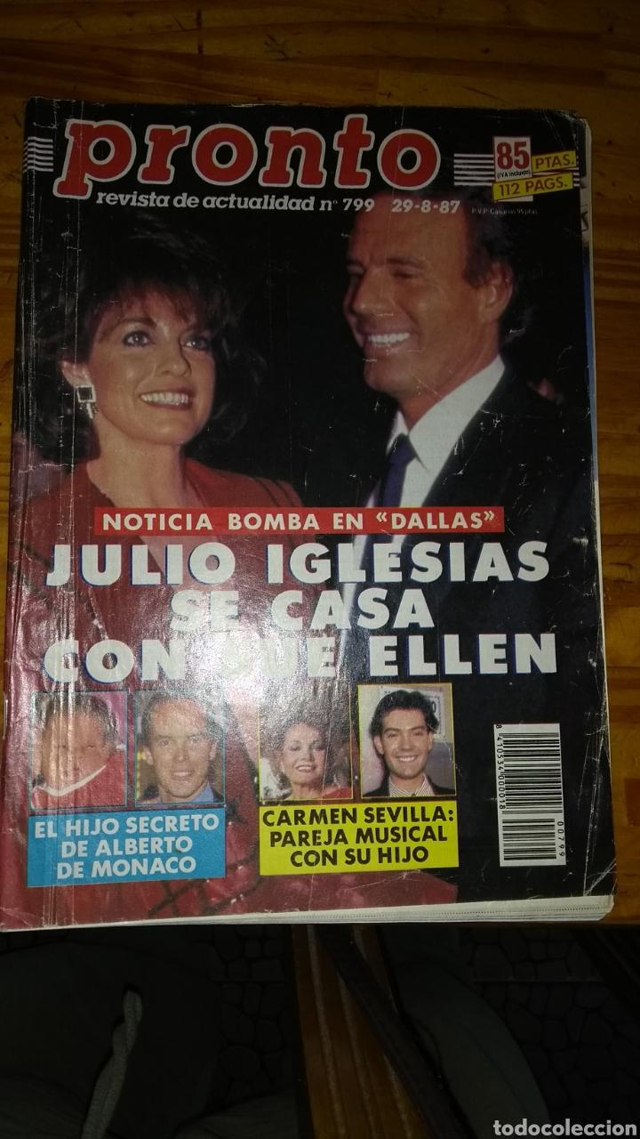 Coleccionismo de Revista Pronto: 23 revistas pronto año 1987 leer antes de comprar - Foto 23 - 165754348