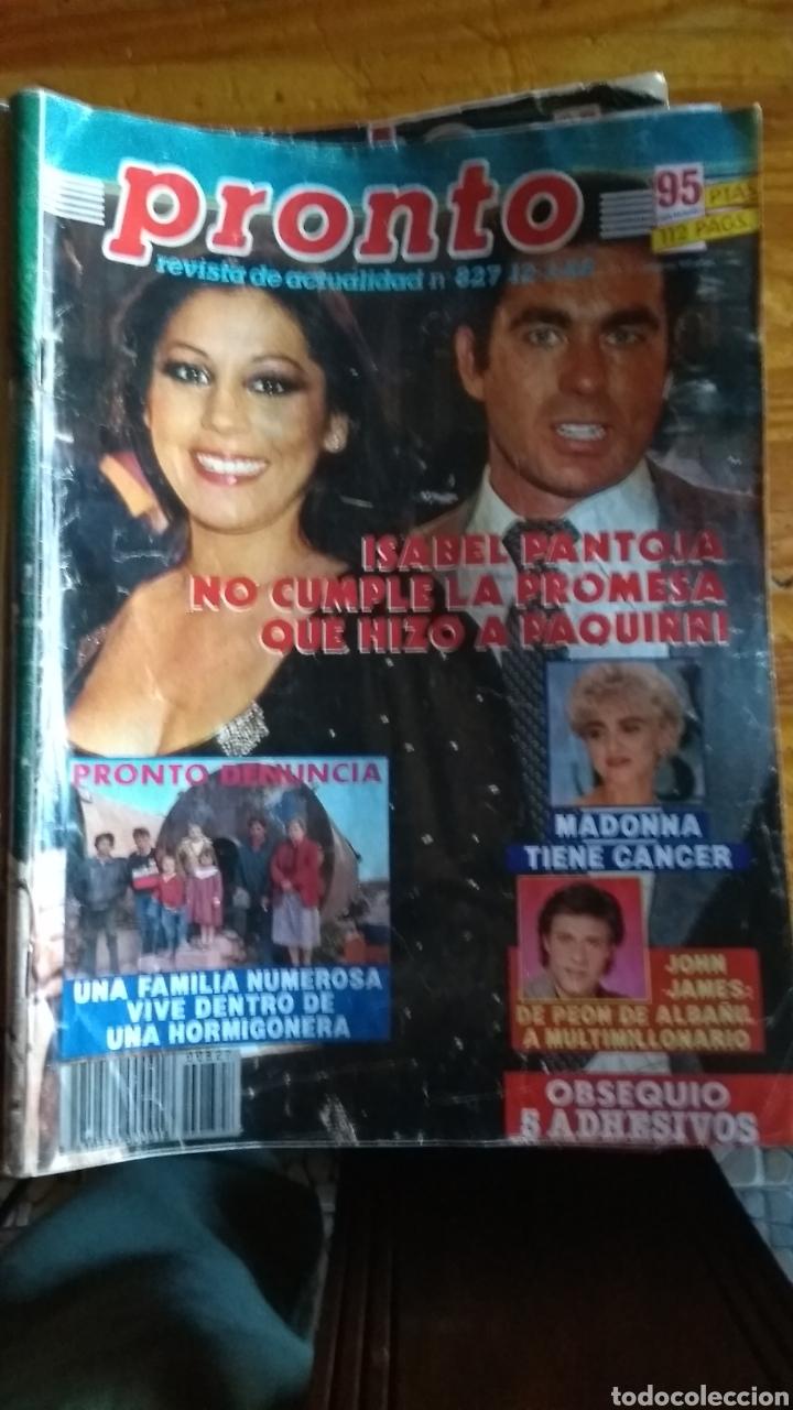17 REVISTAS PRONTO 1988 LEER ANTES DE COMPRAR (Papel - Revistas y Periódicos Modernos (a partir de 1.940) - Revista Pronto)