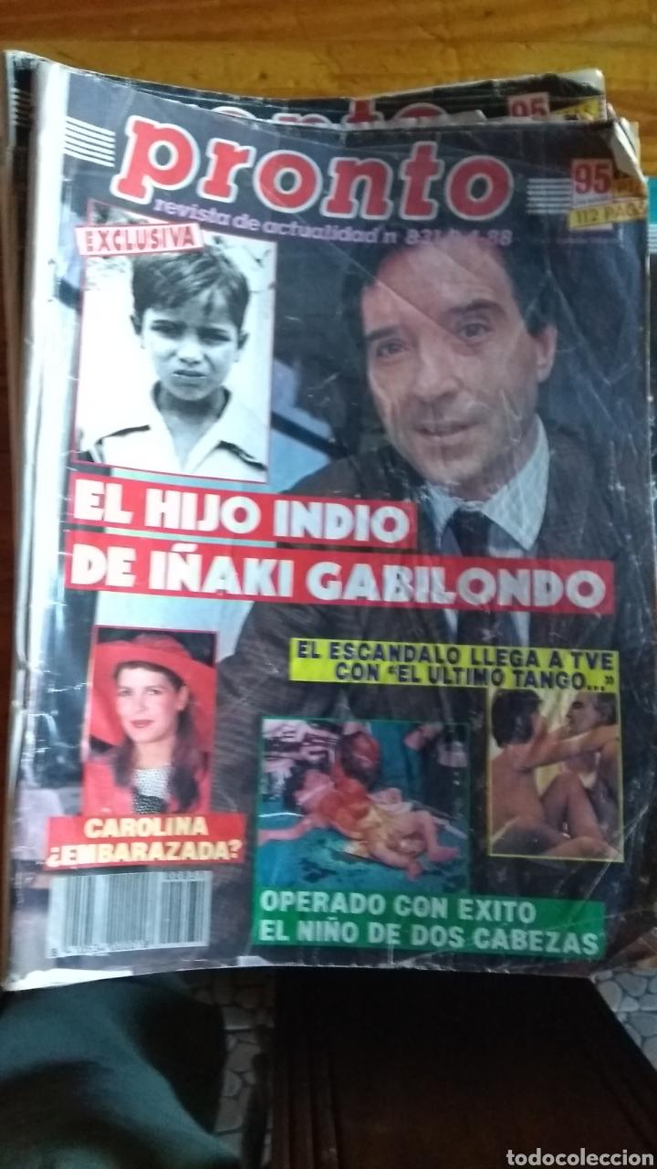 Coleccionismo de Revista Pronto: 17 revistas pronto 1988 leer antes de comprar - Foto 2 - 165755349