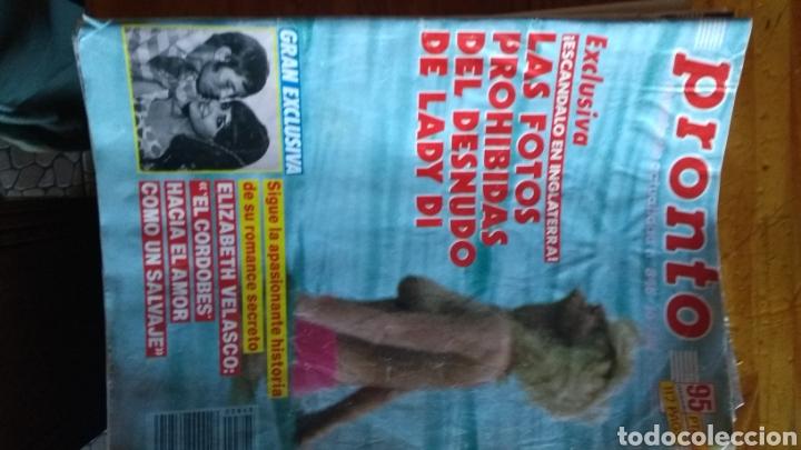 Coleccionismo de Revista Pronto: 17 revistas pronto 1988 leer antes de comprar - Foto 5 - 165755349