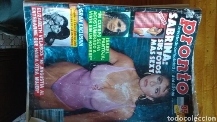 Coleccionismo de Revista Pronto: 17 revistas pronto 1988 leer antes de comprar - Foto 7 - 165755349