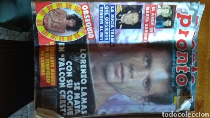 Coleccionismo de Revista Pronto: 17 revistas pronto 1988 leer antes de comprar - Foto 9 - 165755349
