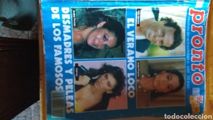 Coleccionismo de Revista Pronto: 17 revistas pronto 1988 leer antes de comprar - Foto 11 - 165755349