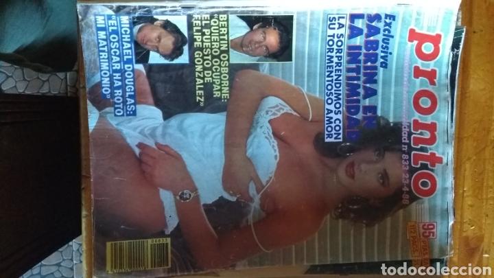 Coleccionismo de Revista Pronto: 17 revistas pronto 1988 leer antes de comprar - Foto 12 - 165755349