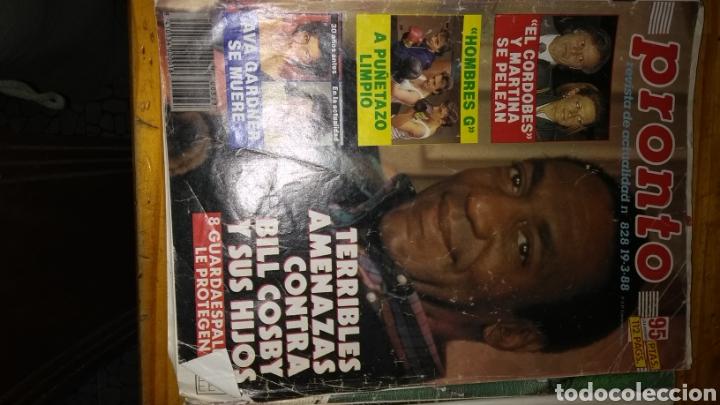 Coleccionismo de Revista Pronto: 17 revistas pronto 1988 leer antes de comprar - Foto 14 - 165755349