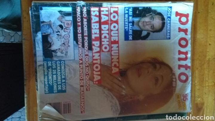 Coleccionismo de Revista Pronto: 17 revistas pronto 1988 leer antes de comprar - Foto 15 - 165755349