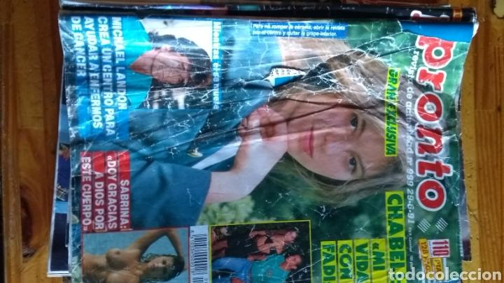 Coleccionismo de Revista Pronto: Lote revistas 15 pronto año 1990.1991 leer antes de comprar - Foto 2 - 165756358