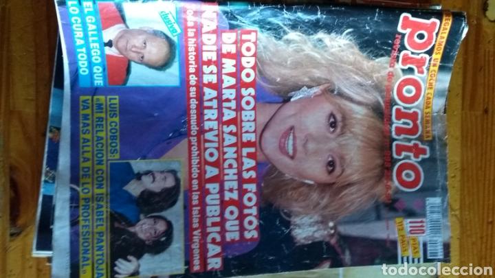 Coleccionismo de Revista Pronto: Lote revistas 15 pronto año 1990.1991 leer antes de comprar - Foto 3 - 165756358