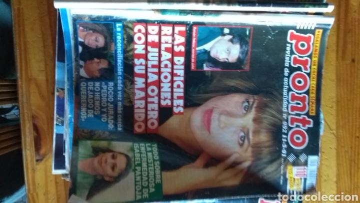 Coleccionismo de Revista Pronto: Lote revistas 15 pronto año 1990.1991 leer antes de comprar - Foto 4 - 165756358