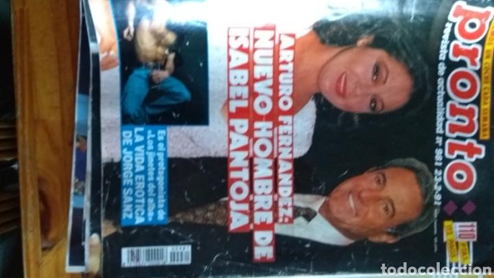 Coleccionismo de Revista Pronto: Lote revistas 15 pronto año 1990.1991 leer antes de comprar - Foto 7 - 165756358