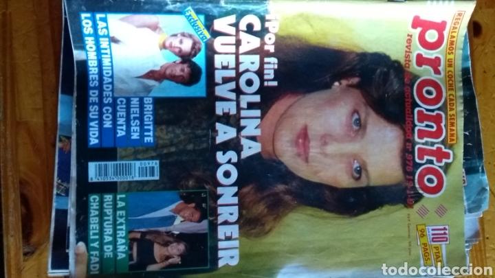 Coleccionismo de Revista Pronto: Lote revistas 15 pronto año 1990.1991 leer antes de comprar - Foto 8 - 165756358