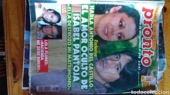Coleccionismo de Revista Pronto: Lote revistas 15 pronto año 1990.1991 leer antes de comprar - Foto 9 - 165756358
