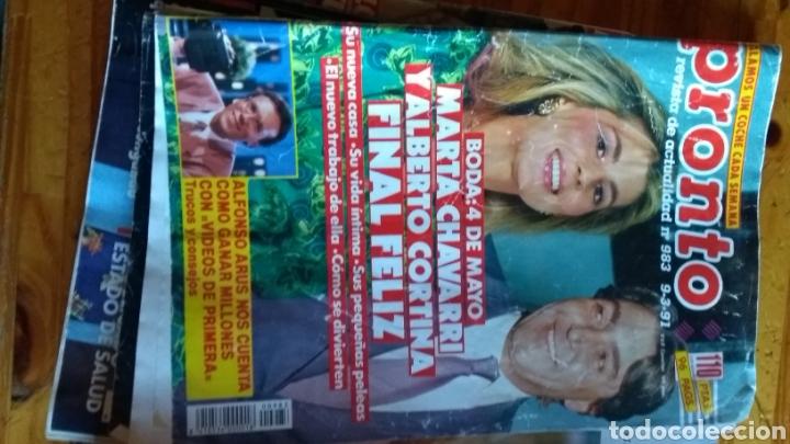Coleccionismo de Revista Pronto: Lote revistas 15 pronto año 1990.1991 leer antes de comprar - Foto 12 - 165756358
