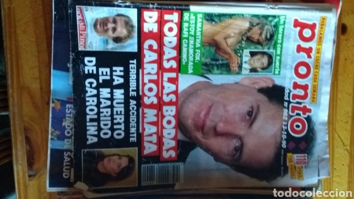 Coleccionismo de Revista Pronto: Lote revistas 15 pronto año 1990.1991 leer antes de comprar - Foto 13 - 165756358