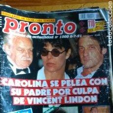 Coleccionismo de Revista Pronto: LOTE REVISTAS 15 PRONTO AÑO 1990.1991 LEER ANTES DE COMPRAR. Lote 165756358