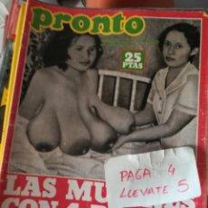 Coleccionismo de Revista Pronto: REVISTA PRONTO 331 * 11-9-78 * MIGUEL GALLARDO + JOSE VELEZ + FICHAS MAZINGER Z * 68. Lote 169878600